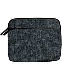 Baggy Maletin Funda Negro para Tablet iPad Ordenador portatil Documentos