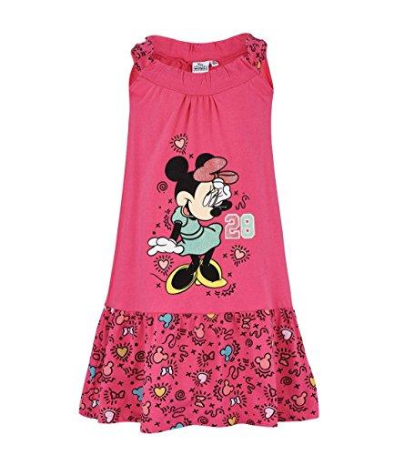 Disney minnie ragazze vestito - fucsia - 128