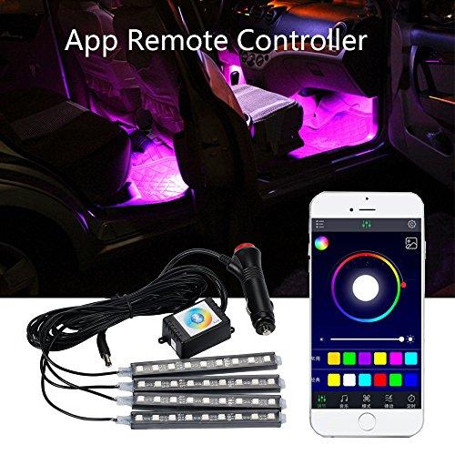 mihaz-36-leds-16-color-rgbw-4pcs-car-interior-light-strip-light-waterproof-glow-neon-decoration-lamp