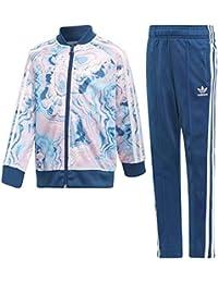 51ccc8246b159 Amazon.it  tuta adidas bambino - Tute da ginnastica   Abbigliamento ...