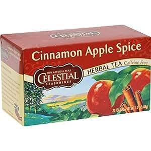 Celestial Seasonings 0629709 Tisane sans caf-ine Pomme Cannelle Spice - 20 Sachets