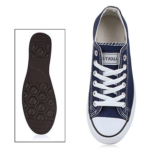 Sneakers best-boots da donna scarpe da ginnastica atletica scarpe Cords Slipper New Navy Blue