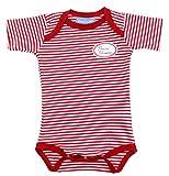 Ringelsuse Body Baby Rot Weiß Gestreift Bedruckt Kleine Schwester Baumwolle Größe 62/68 Fairtrade
