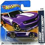 Hotwheels Diecast Car Hot Wheels Camaro Convertible Concept #149 (Faster Ever)