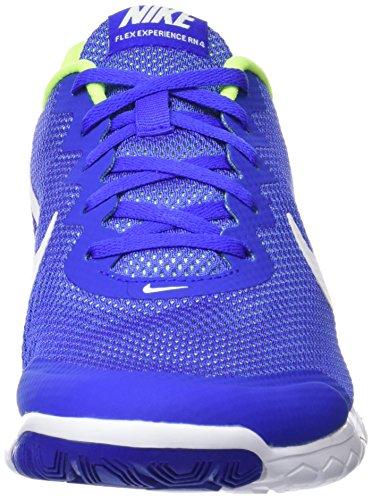 Nike Flex Experience Rn 4, Scarpe da Corsa Uomo Multicolore (Racer Blue/White-Volt-White)