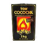 2x 1kg Tom Cococha Gold Räucherkohle für Shisha oder 2kg)