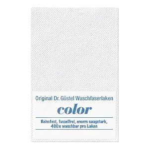 Dr. Güstel Waschfaserlaken ® COLOR weiss 160×210 cm 1 Stück STANDARD 100 by OEKO-TEX®-zertifiziertes waschbares Vlieslaken für die Behandlungsliege
