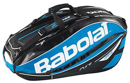 Babolat Schlägertaschen Pure Drive Racket Holder X12, Blau, 75 x 46 x 33 cm, 70 Liter, 751104-136