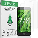 GadFull 2 Stück HD Displayschutzfolie aus Panzerglas für iPhone 7, iPhone 8 |...