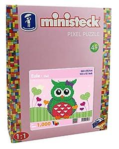 Ministeck 32.480,2 - Patrones entrelazados, la razón: Little Owl, Incl. Tacos y Accesorios