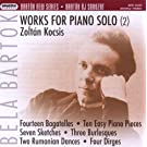 Bela Bartok Oeuvres Pour Piano Seul /Vol.2