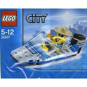 Lego City 30017 polizia barca 5702014857483 LEGO