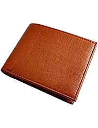 Beautylife Tan Stylish Men's Genuine Leather Wallet, Perfect To Carry All Your Cash And Cards- Under 300 Boys...