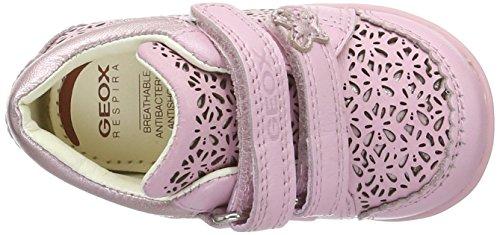 Geox B KAYTAN D B4250D00043C0899 Baby Mädchen Lauflernschuhe Pink (Lt Pinkc8010)