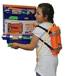 Allkindathings - Pistola de Agua para niños, Grande, Super Soaker, para jardín, Juguete Divertido para niños
