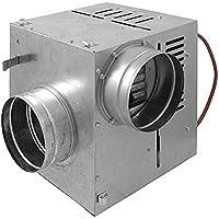 Chimenea de distribución de aire caliente Ccon ventilador AN1,125mm, 400M3/H