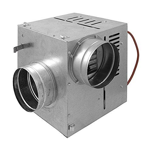Chimenea distribución aire caliente Ccon ventilador