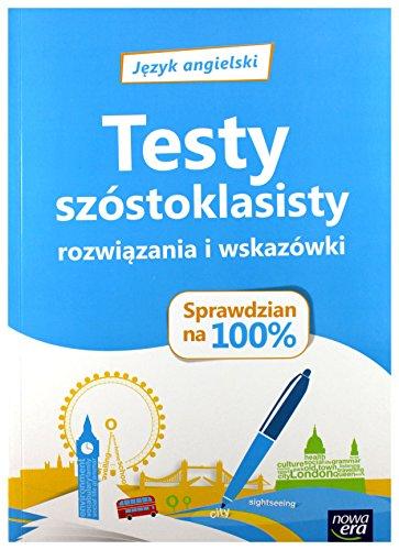 Język angielski Sprawdzian na 100% Testy szóstoklasisty - Aleksandra Prochalska-Stępień, Magdalena Shaw [KSIĄŻKA]
