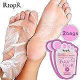 Baby Foot Mask,2 Paar Entfernen abgestorbene Haut Fußhaut Glatte Peeling Fußmaske Fußpflege,Hand- & Fußpeelings,Rosa,2 Paar