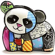 ROMERO BRITTO Mini Figur - Panda Bär - Pop Art Kunst aus Miami #334119