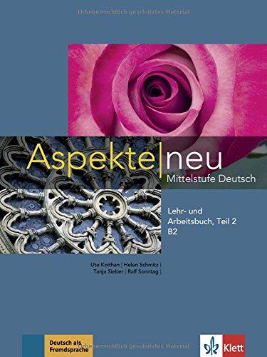 Aspekte neu b2, libro del alumno y libro de ejercicios, parte 2 + cd por Ute Koithan