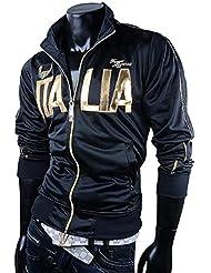 Italia Sweatjacke Italy Trainingsjacke Italia Sweatshirt ITALY Viele Farben