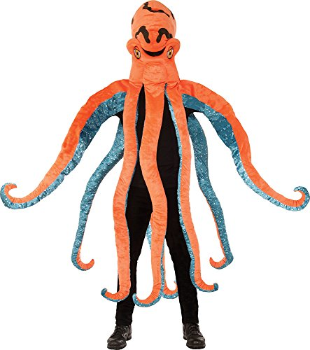 erestiere Kostüm Party Outfit Octopus großer Kopf Kostüm ()