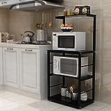 MFFACAI Étagère de Cuisine 4 étage Micro-Ondes étagère Four étagère...