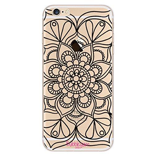 BubbleGum für iPhoneModelle, Henna Mehndi-Muster, creativ, transparent, 5, iPhone 5 5s 5se 7