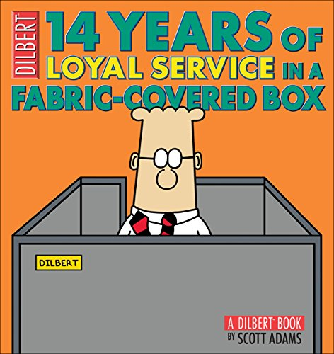 14 Years of Loyal Service in a Fabric-Covered Box (Dilbert Book Collections Graphi) by Scott Adams (20-Oct-2009) Paperback
