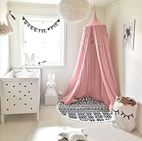 Betthimmel Für Kinder/Babys, Baumwolle, UltraGood Moskitonetz Zum  Aufhängen, Vorhang, Spiel  Und Lesezelt Für Innen Und Außen, Bett /Schlafzimmerdekoration,  ...