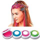 Homiki Hot Huez temporanea dei capelli colori con 4colori gesso trendy alla moda