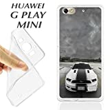 j846 Huawei G Play Mini Gel TPU Case Cover Ford Mustang Car American Muscl