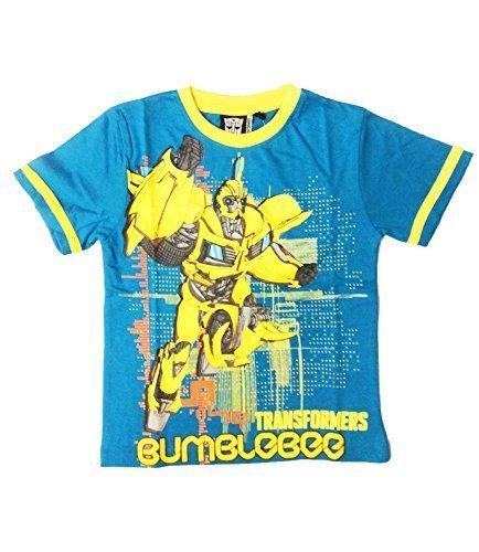 T-Shirt ragazzo Transformers maniche corte