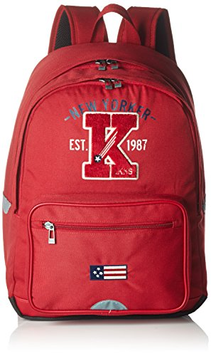 IKKS Cartable American College L, 43 cm, 27 L, (Rouge)