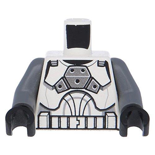 LEGO® Oberkörper SW Rüstung Clone Trooper Clone Gunner Aufdruck / Weiß