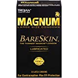 Magnum Bareskin Lubricated Condoms, 10 Count by Trojan