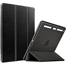 Cover iPad Air 2,ESR Smart Custodia and Case with Clear Back Shell con TPU paraurti e Auto sveglia / funzione di sonno per Apple iPad Air 2