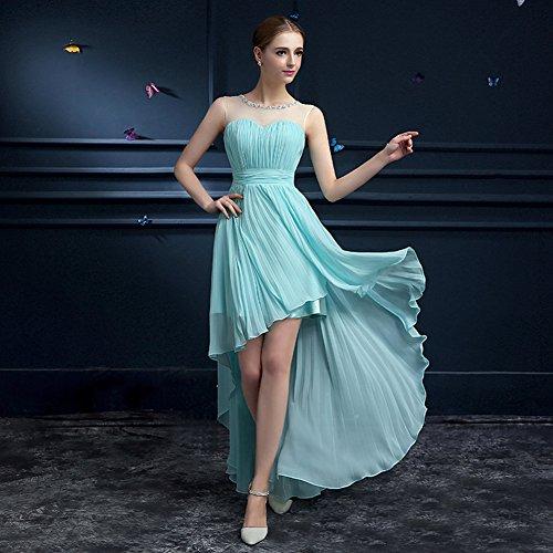 Vimans -  Vestito  - linea ad a - Donna Light Blue