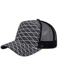 Djinns Herren Caps / Trucker Cap Rubber Tweed High