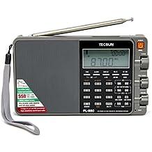 Tecsun PL-880 portátil de banda del receptor de radio con AM / FM / SSB Modos [Importado de Inglaterra]