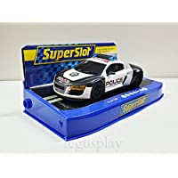 Slot SCX Scalextric Superslot H3932 Audi R8 Police Car