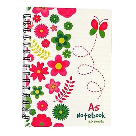 Cahier A5 240 Pages - A5 Cahier - Conception de Jardin de