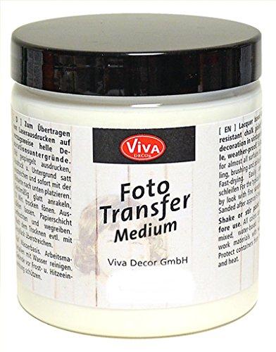 Viva Decor Foto-Transfer-Medium 250 ml - Transparent