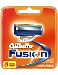 Gillette Fusion Razor Blades, 8 Refills New, Packaging May Vary