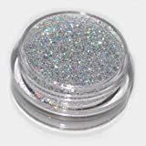Silver Laser Eye Shadow Loose Glitter Dust Body Face Nail Art Party Shimmer...
