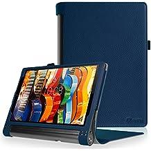 "Fintie Lenovo Yoga Tab 3 Pro / Yoga Tab 3 Plus 10 Funda - Fintie Folio Slim Smart Case Funda Carcasa para Lenovo Yoga Tab 3 Pro / Yoga Tab3 Plus 10.1"" Tablet, Azul Oscuro"