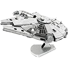 Fascinations 5263 - Maqueta de cohete (5263) - Figura Halcón Milenario Kit 3D (10 cm)