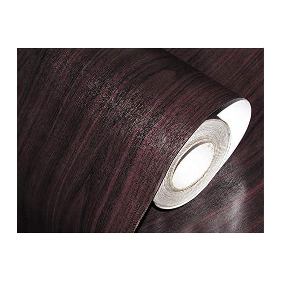 Fusion Graphix Self Adhesive Wood Grain Wallpaper Waterproof Old Furniture Vinyl Stickers Wooden Door Wardrobe Desktop PVC Wall Papers w-15