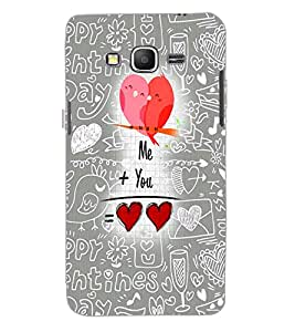 SAMSUNG GALAXY GRAND PRIME LOVE Back Cover by PRINTSWAG